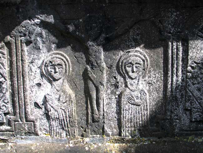 Close-Up of Altar in St. Marys Church Inis Cealtra